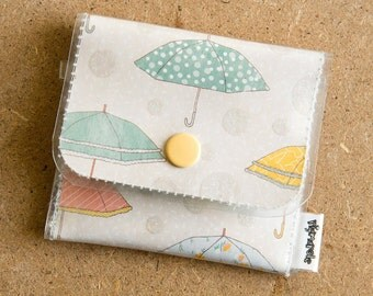 Umbrella  - Vinyl Change Wallet