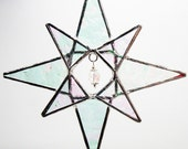Evening Star, Stained Glass Ornament