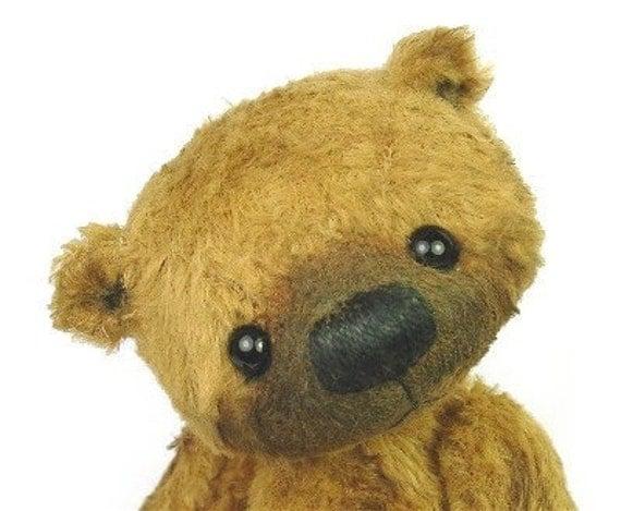 Artist Small Bear PATTERN -  Hazel and Cinnamon - PDF version