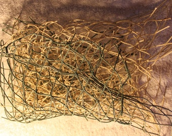 FANTASTIC LOBSTER TRAP Netting Very Ecofriendly Arts and Craft Supplies