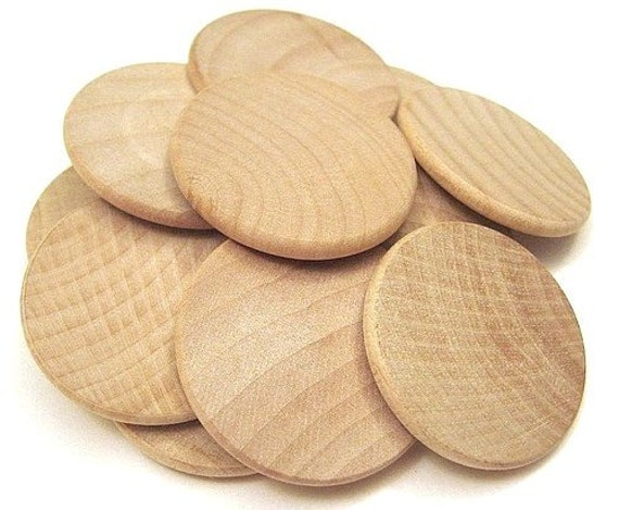 Unavailable listing on etsy for Wood circles for crafts