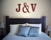 monogram letters for your wedding or wall