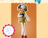 """PREORDER - """"Bubble Up""""  Pose Doll Pattern & Kit"""