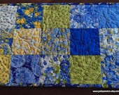 Summer Breeze Patchwork Table Runner Cottage Chic