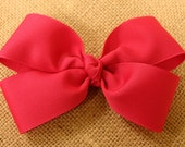 Beautiful Large Classic Boutique Hair Bow to match Dress Orders