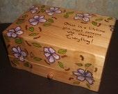 Hibiscus Flowers Jewelry Box Last One