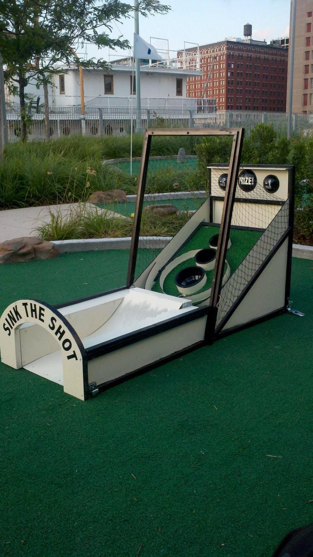 Custom Skee-Ball Mini-Golf Obstacle