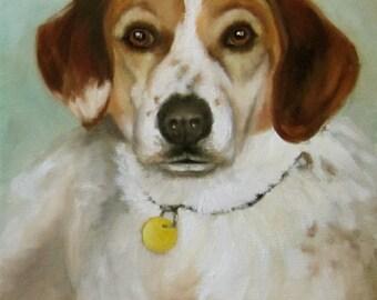 Let Me Paint Your Pet,Canvas Oil Painting,Custom Painting Your Favorite Pet by Cheri Wollenberg