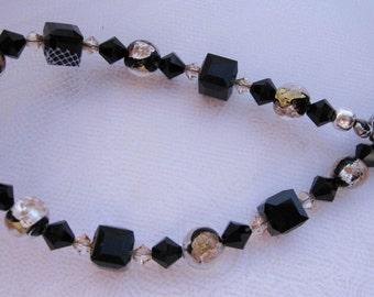 fatdog Bracelet - B1047 Gold and Black