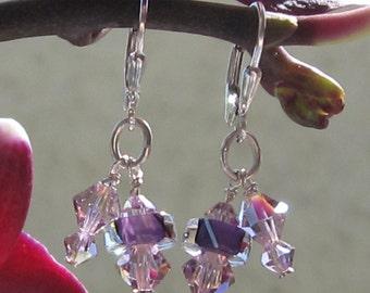 fatdog Earrings - E14 Purple Shorties
