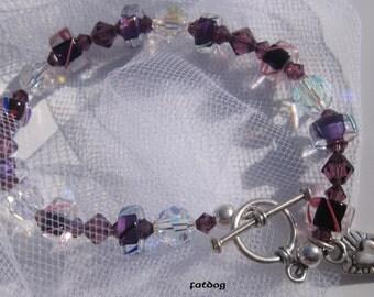 fatdog Bracelet - B1043 Purple Heart