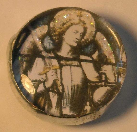 Pocket Prayer Pebble - Archangel Michael