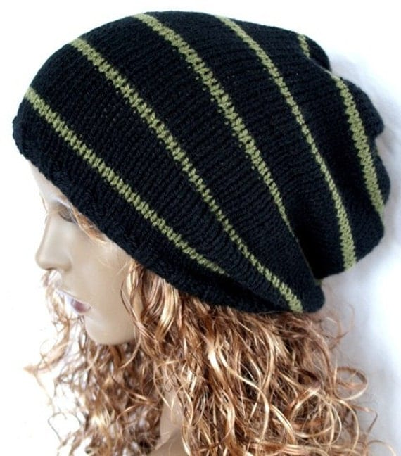 Slouch Hat, Mens Hat, Womens Hat, Valentines Day, Knitted Oversized Hat, Slouchy Beanie