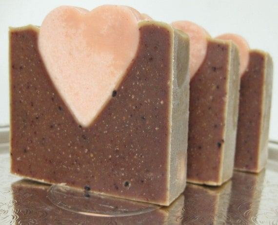 Organic Heart Soap - Limited Edition