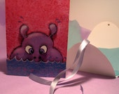 3D GREETING CARD HAPPY HIPPO