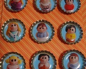 Brady Bunch Magnets- Set of 9