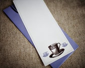 SALE - Note Set with Teacups (Set of 10)