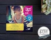 Little Birdie Birthday Party Invite (((ETSY EXCLUSIVE)))