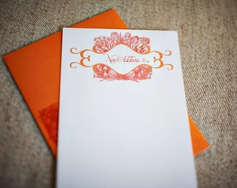 SALE - New Address Notes with Flowers (Set of 10)