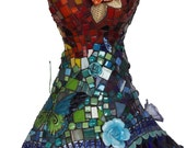 SACRED GARDEN, a mosaic dress