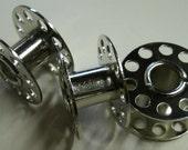5 10 15 20 25 wholesale Sewing Machine Metal Bobbins  Pack 2 cm or 13/16 diameter