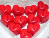 Valentine Spicy Sweet Cinnamon Red Heart Soap