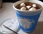 Novelty Soap - Coffee Cart Hot Chocolate Soap - Hot Chocolate - Chocolate Soap - Gift for him - Valentines Day - Winter - Novelty Soap
