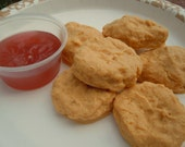 Food soap - THE ORIGINAL SweetSoap Fast Food Chicken Nugget Soap with sauce