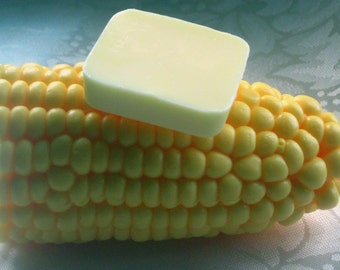 Corn on the Cob Fun Food Soap