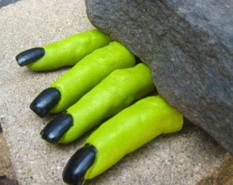 Wonderfully Witchy Finger Soap - Halloween - Finger Soap - Novelty Soap - Wicked Witch - Wizard of Oz - fun soap - vegan