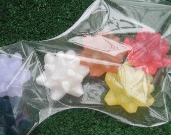 Christmas Soap - Bag O' Bows Holiday Soap