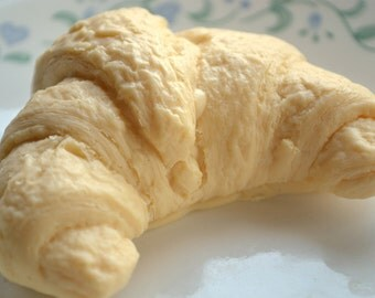 Croissant Cravings Food Soap - Food Soap - Croissant - Bread - Breakfast - Brunch - Party Favor - Mother's Day - Gift for Grandma