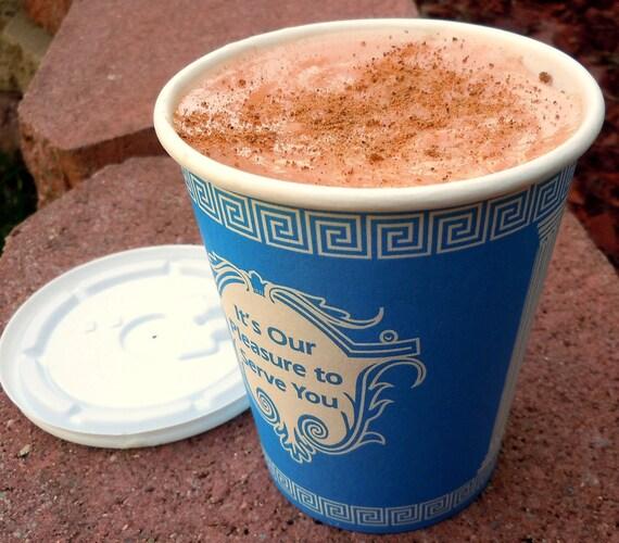 Pumpkin Soap - Coffee Cart Pumpkin Spice Latte Soap - Latte - Realistic Fake Food Soap