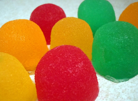 Candy Soap - Sweet Gumdrop Soap - Novelty Soap - Candies - Gum Drops - Childrens Soap - Gift for Him - Fathers Day