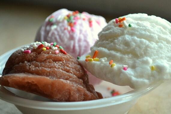 I Scream for Ice Cream Scoops Vegan Soap 5 piece Set