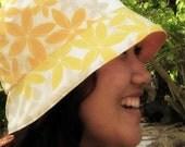 Tuhong Hatdin - Garden Hat (yellow and orange)