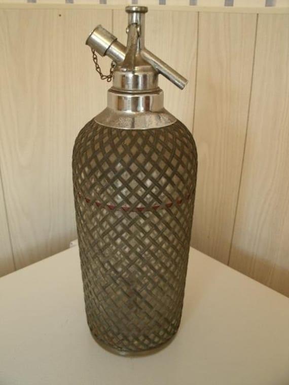 Vintage Sparklets Syphon Spritzer Bottle Ca 1930 S
