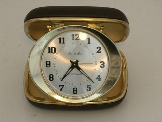 Westclock Vintage Travel Ben Alarm Clock 1960s