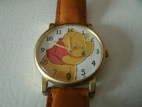 Vintage Timex Winnie The Pooh Wrist Watch