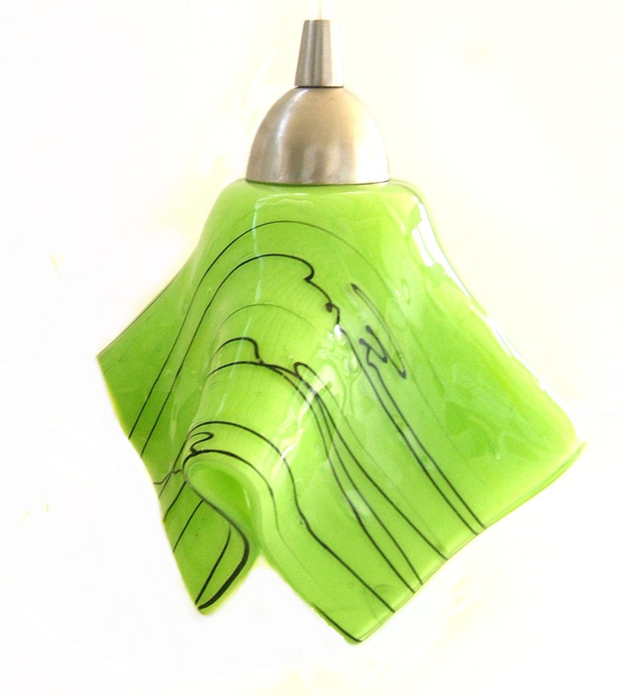 Lime Green Kitchen Island Pendant Light Fixture