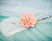 L'Amour, Vintage Style Bobby Pin. Hair Accessory