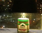 Eichbaum Export mini keg beer lamp
