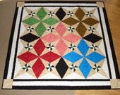 Bright Jewel Star Quilt