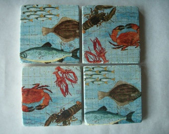 Coasters Sea Creatures