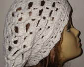 Hand Crochet Cluster Shell Stitch Tams/Women's Beret/Women's Accessories/Fashion/Snood/Teen/Wear it 3 different ways/Pick your own color