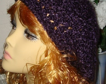 Crochet Super Soft Warm Homespun Slouchy Tams/Slouch Beret/Women's Berets/Teen Berets/Women's Accessories/Fall Fashion/Winter Accesssories