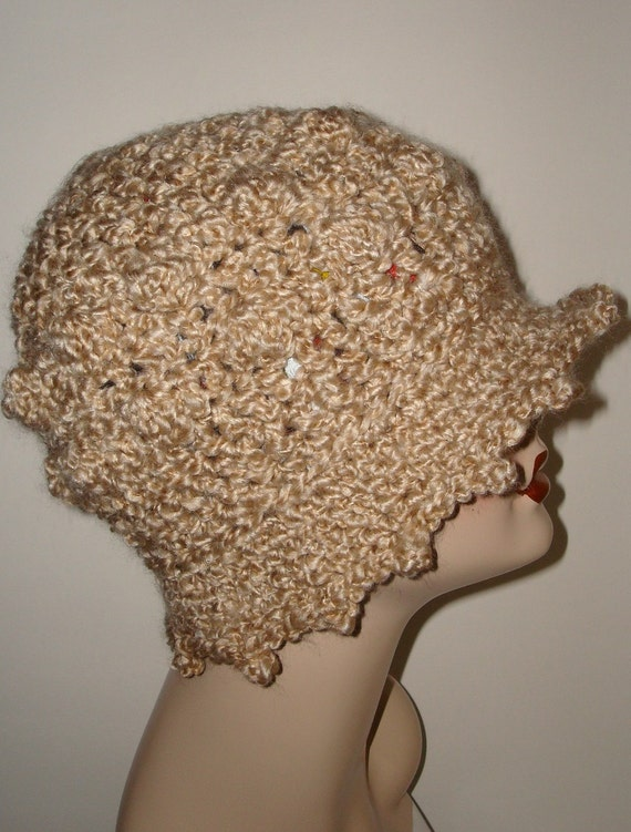 pattern elegant crochet edwardian bobble style cloche