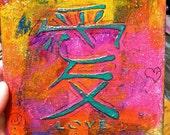 Love- Original acrylic painting
