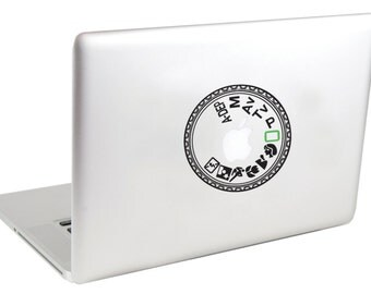 Laptop Decal (( Canon Mode Dial )) by Suzie Automatic