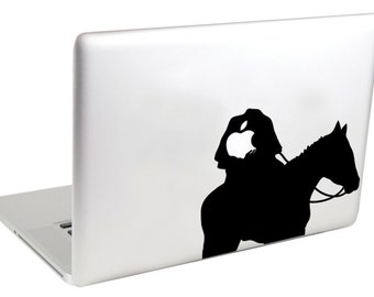 Laptop Decal (( Headless Horseman )) by Suzie Automatic